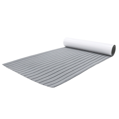 PE/EVA Foam Boat Flooring - Light Grey Over Black