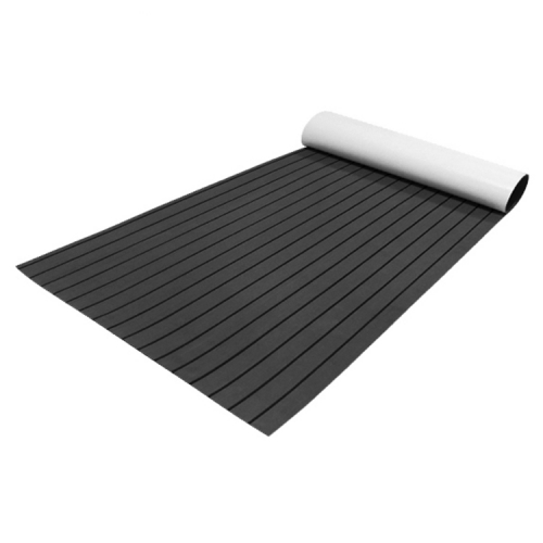 PE/EVA Foam Boat Flooring - Drak Grey Over Black